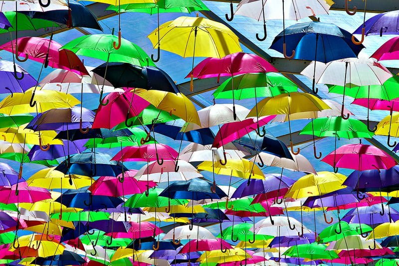 Photo:umbrella canopy By:* Patrícia *