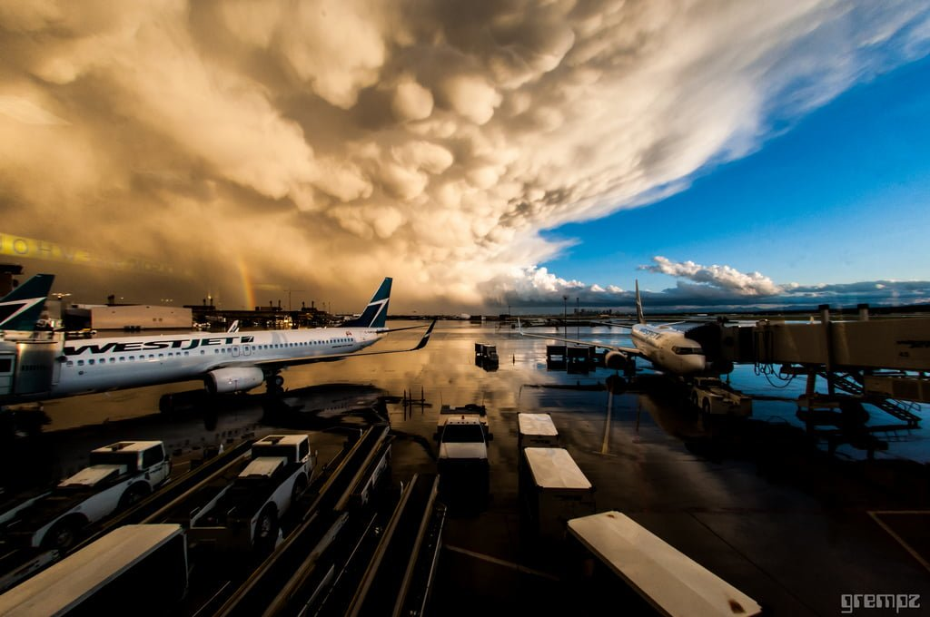 Airport Storm