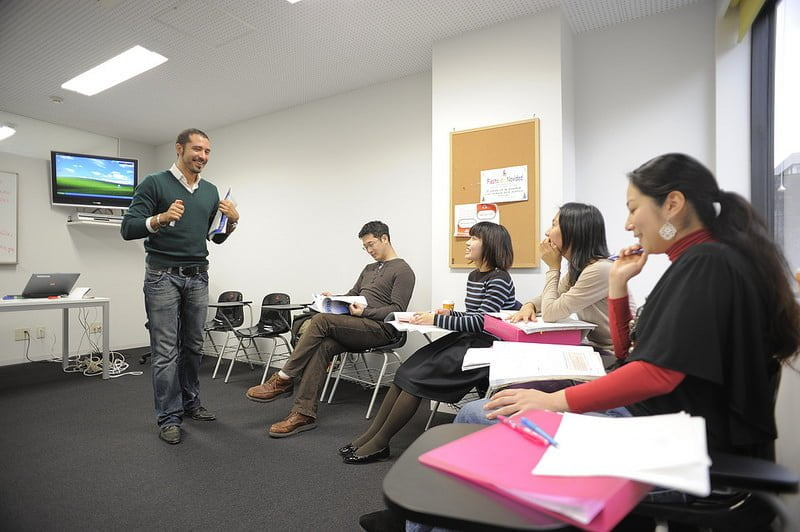 Photo:clase4 By:Instituto Cervantes de Tokio