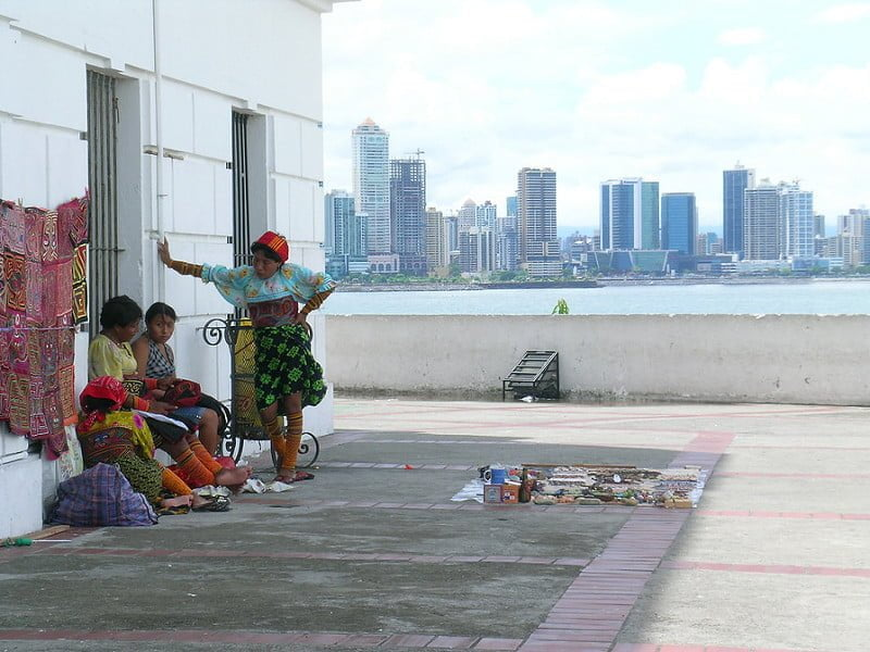 Photo:indians from panama By:lotzmana