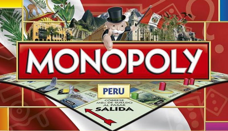Photo:monopoly peru By:latinwotaku