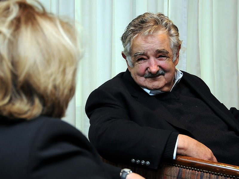 Photo:Judith McHale and President Mujica By:U.S. Embassy Montevideo