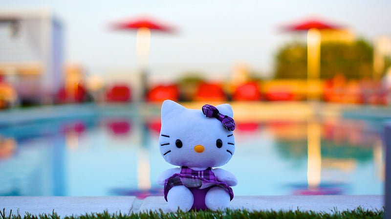 Photo:Hello Kitty at Sunset 13020 By:tedeytan
