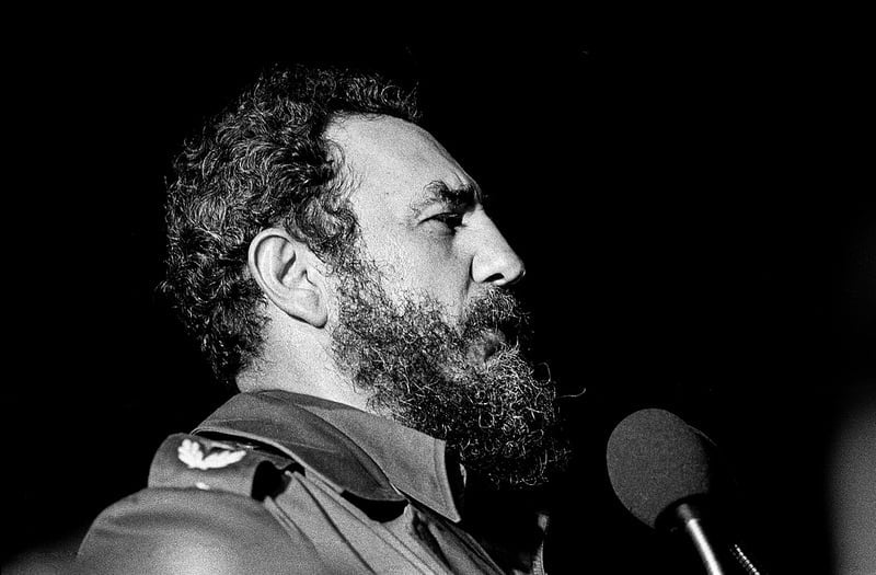 Photo:Fidel Castro, Havana, 1978 By:Marcelo Montecino